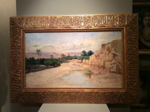 Art nouveau - Biskra in 1885, - Eugene Girardet,1853-1907