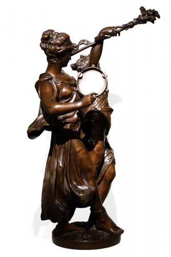 Bacchanale figure  - Etienne Henry DUMAIGE (1830-1888)