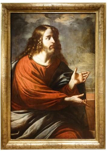 Christ Preaching before a Stormy,Threatening Sky, Italian School,circa 1620