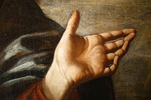 Antiquités - Christ Preaching before a Stormy,Threatening Sky, Italian School,circa 1620