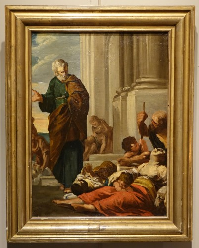 Saint Paul Healing the Sick by Gabriel Ferrier, Oil on Canvas
