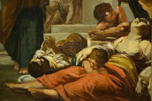 Paintings & Drawings  - Saint Paul Healing the Sick by Gabriel Ferrier, Oil on Canvas