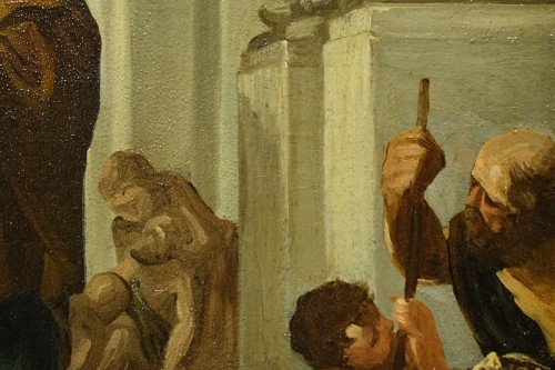 Saint Paul Healing the Sick by Gabriel Ferrier, Oil on Canvas -