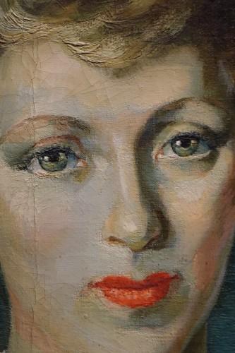 Paintings & Drawings  - Jean Louis BOUCHEZ (1905-1983) - Portrait of an elegant