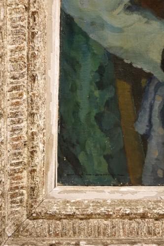 Jean Louis BOUCHEZ (1905-1983) - Portrait of an elegant -