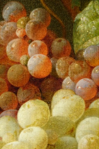 Napoléon III - Still Life With Grapes - Claudius Pizzetty, 1866