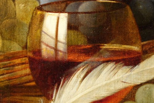 Antiquités - Still Life With Grapes - Claudius Pizzetty, 1866
