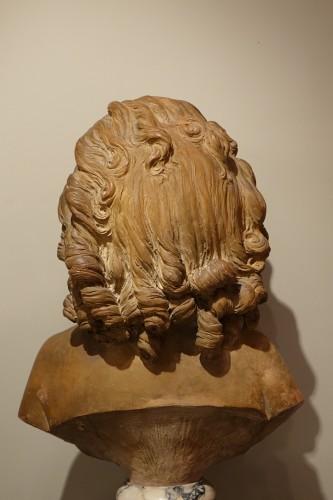 Terra-Cotta Sculpture Bust of Sabine Houdon, Jean Antoine Houdon - Louis-Philippe