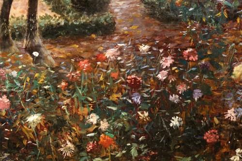 Antiquités - Oil on canvas,signed Georges ROCHEGROSSE ,1894