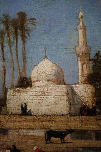 Edges of the Nile - Victor Hughet (1835-1902) -