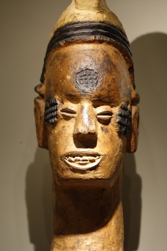 20th century - An Important African statue,Igbo Nigéria , Circa 1930