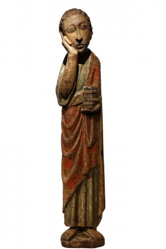 A Sculpture of St John At Calvary, France 13th Century