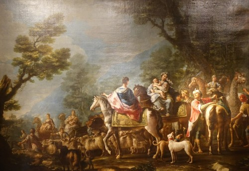 Jacob Returns to Canaan, French school 18th century