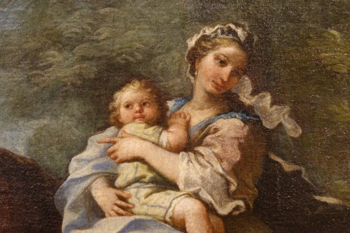 Jacob Returns to Canaan, French school 18th century -