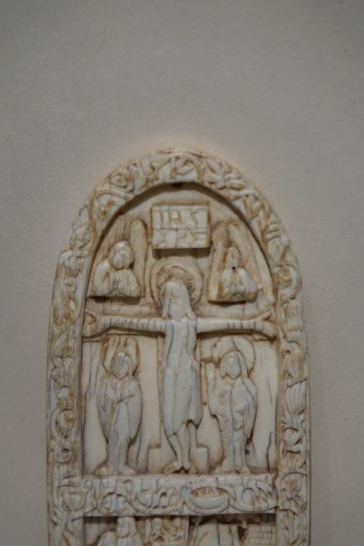 Ivory depicting the Crucifixion ,Salerno ,Italy,11th century  - Religious Antiques Style Middle age