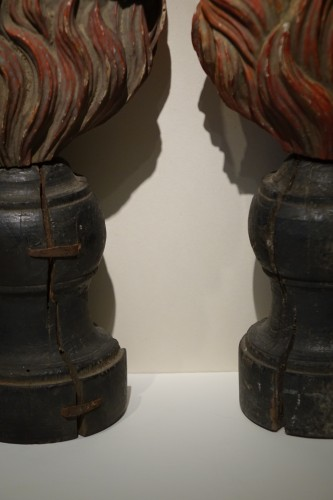 Pair of Anima Sola or Lonely Soul Sculptures, 16th Century, Southern Italy -