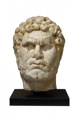 Marble sculpture representing the Emperor Caracalla, 3th c.AC