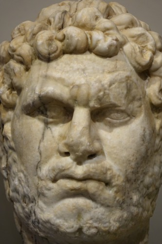 Sculpture  - Marble sculpture representing the Emperor Caracalla, 3th c.AC