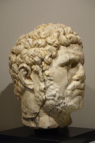 Marble sculpture representing the Emperor Caracalla, 3th c.AC -