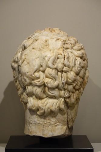 - Marble sculpture representing the Emperor Caracalla, 3th c.AC