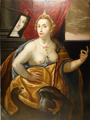 Pair of Paintings on Panel, Venetian School late 16th, early 17th century - Paintings & Drawings Style Renaissance