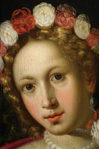 Paintings & Drawings  - Pair of Paintings on Panel, Venetian School late 16th, early 17th century
