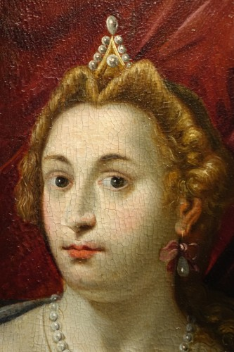 Pair of Paintings on Panel, Venetian School late 16th, early 17th century -