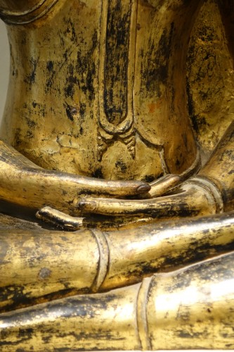 Asian Art & Antiques  - Bronze Buddha Statue , Thailand 19th century