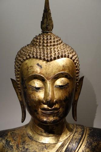 19th century - Bronze Buddha Statue , Thailand 19th century