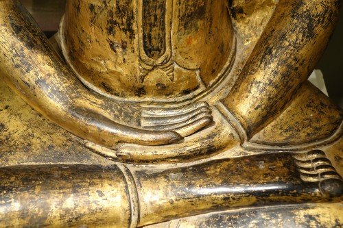 Bronze Buddha Statue , Thailand 19th century -