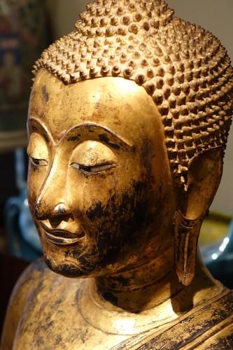 - Bronze Buddha Statue , Thailand 19th century