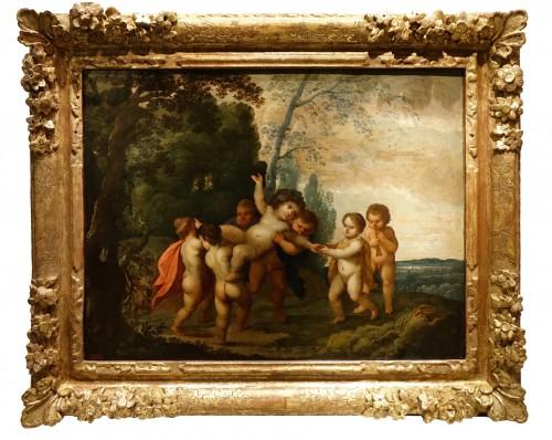 The Childhood of Bacchus -  17th Century Flemish