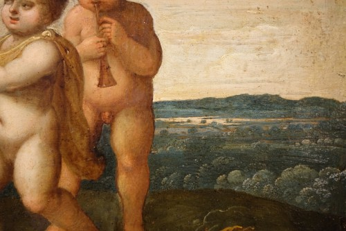 Paintings & Drawings  - The Childhood of Bacchus -  17th Century Flemish