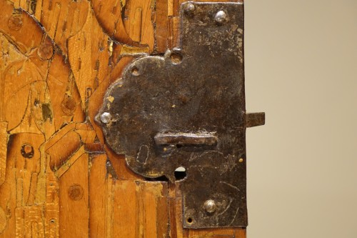 16th Century German Cabinet with a Floral and Architectural Decoration -
