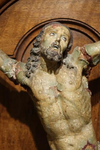 Corpus Christi, Papier-Mâché, Spain, 18th Century - Religious Antiques Style French Regence