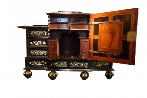Furniture  - Wooden cabinet with 17 drawers ,Germany ,18th century
