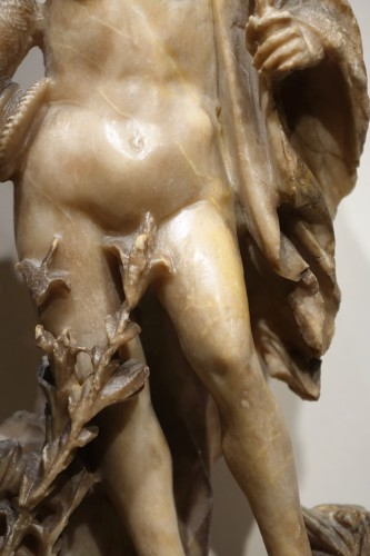 Sculpture  - Alabaster Statue of the Goddess Flore, Flemish, 17th Century