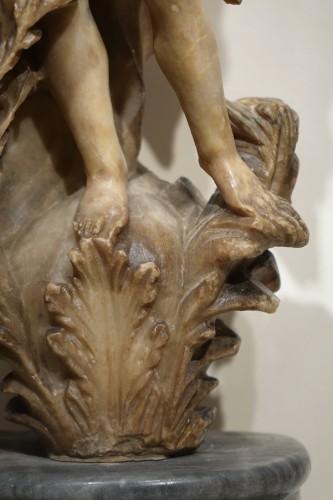 17th century - Alabaster Statue of the Goddess Flore, Flemish, 17th Century