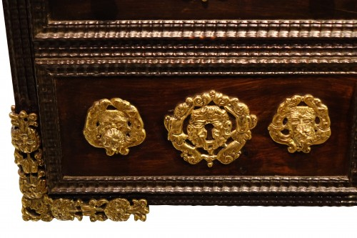 A 17th c. Indo-Portuguese rosewood cabinet -