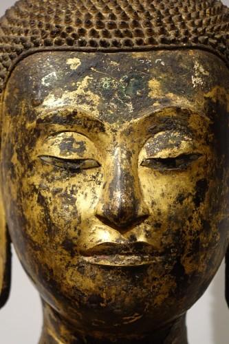 19th century - Buddha sitting in the position of Bhumisparsa mudra, Thailand19th century
