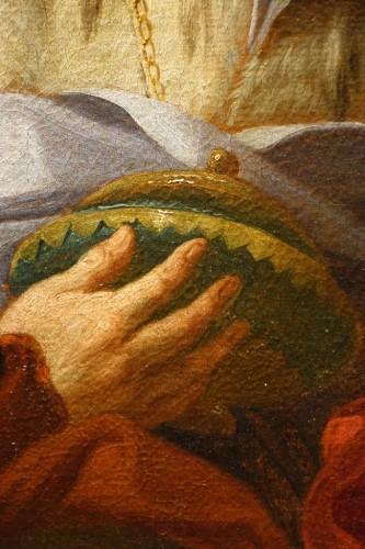 Antiquités - Adoration of the three wise men,Domenico ZORZI( 1729-1792),circa 1760