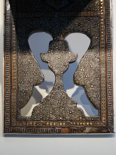 """Inlaid Coran holder""""khatam kari"""",Persia,19th century. - Religious Antiques Style Napoléon III"""
