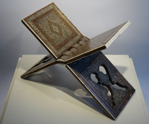 "Inlaid Coran holder""khatam kari"",Persia,19th century. - Napoléon III"