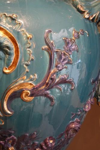 Pair of Large Medicis vases, France, circa 1890 -