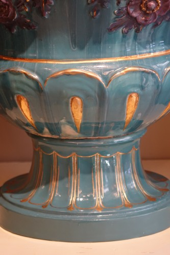 19th century - Pair of Large Medicis vases, France, circa 1890
