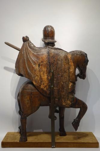 Antiquités - Saint Martin sharing his coat,south of France, 16th c.