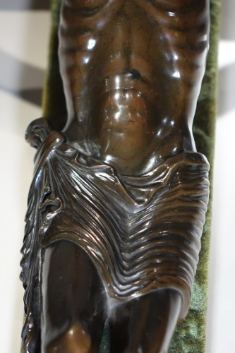 Religious Antiques  - Christ on a cross,bronze,France,beginning of 19th c.