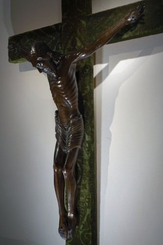 19th century - Christ on a cross,bronze,France,beginning of 19th c.