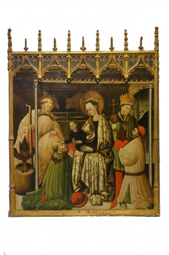Adoration of the Magi, Spain ,end of 15th c.-beginning of 16th c.
