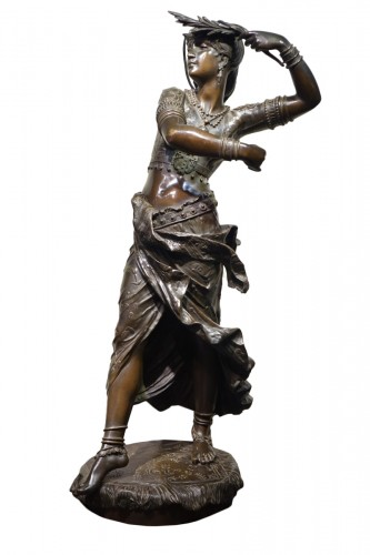 Oriental dancer - Henri Honoré PLÈ ( 1853-1922)